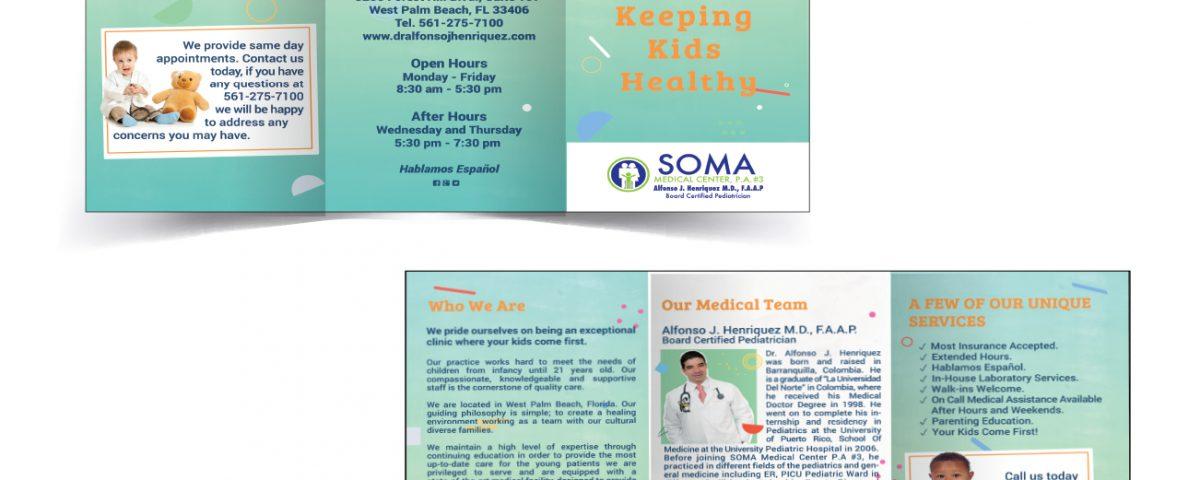 Soma medical center pa 3 brochure design tres digital solutions soma medical center pa 3 brochure design altavistaventures Choice Image